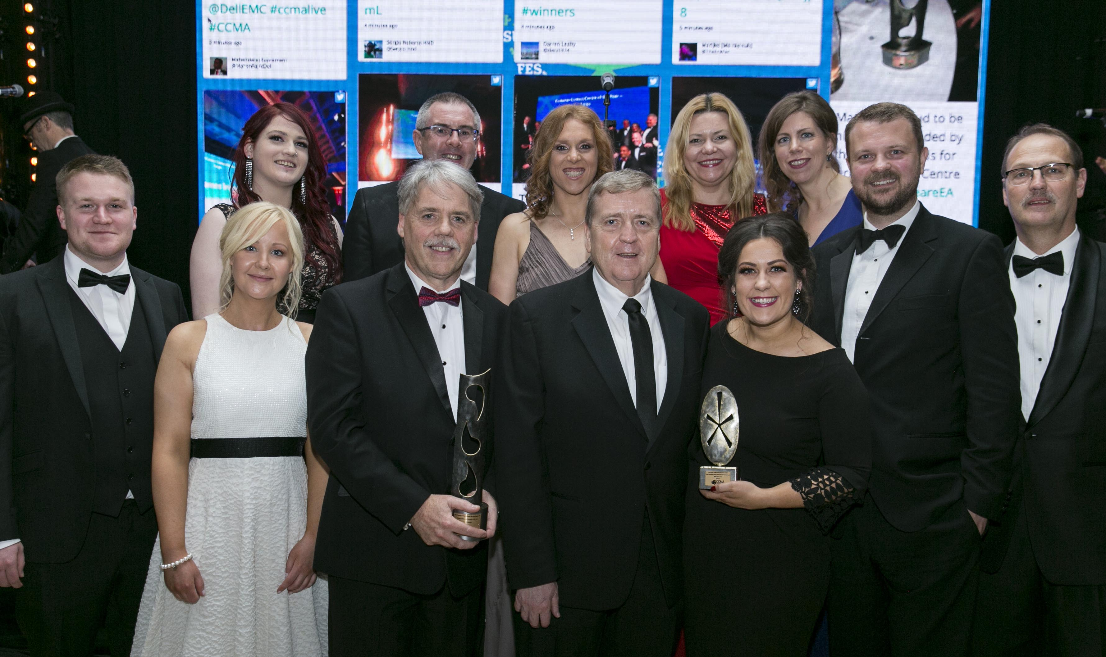 CCMA Awards 2017 : Joe Cahalane and team with Pat Breen, TD Minister of State with special responsibility for Trade, Employment, Business, EU Digital Single Market and Data Protection. Front Row Left to Right: Colin Dolan, Emily Poucher, Joe Cahalane, Arise MD, Pat Breen TD Minister for State, Eimear Murnane , Henrik Jensen, Steve Witcombe,  Back Row left to Right: Sarah O'Sullivan, Ger Burke, Sarah Quin, Sylvia Hanley, Sinead Wall. Photo: Johnny Bambury